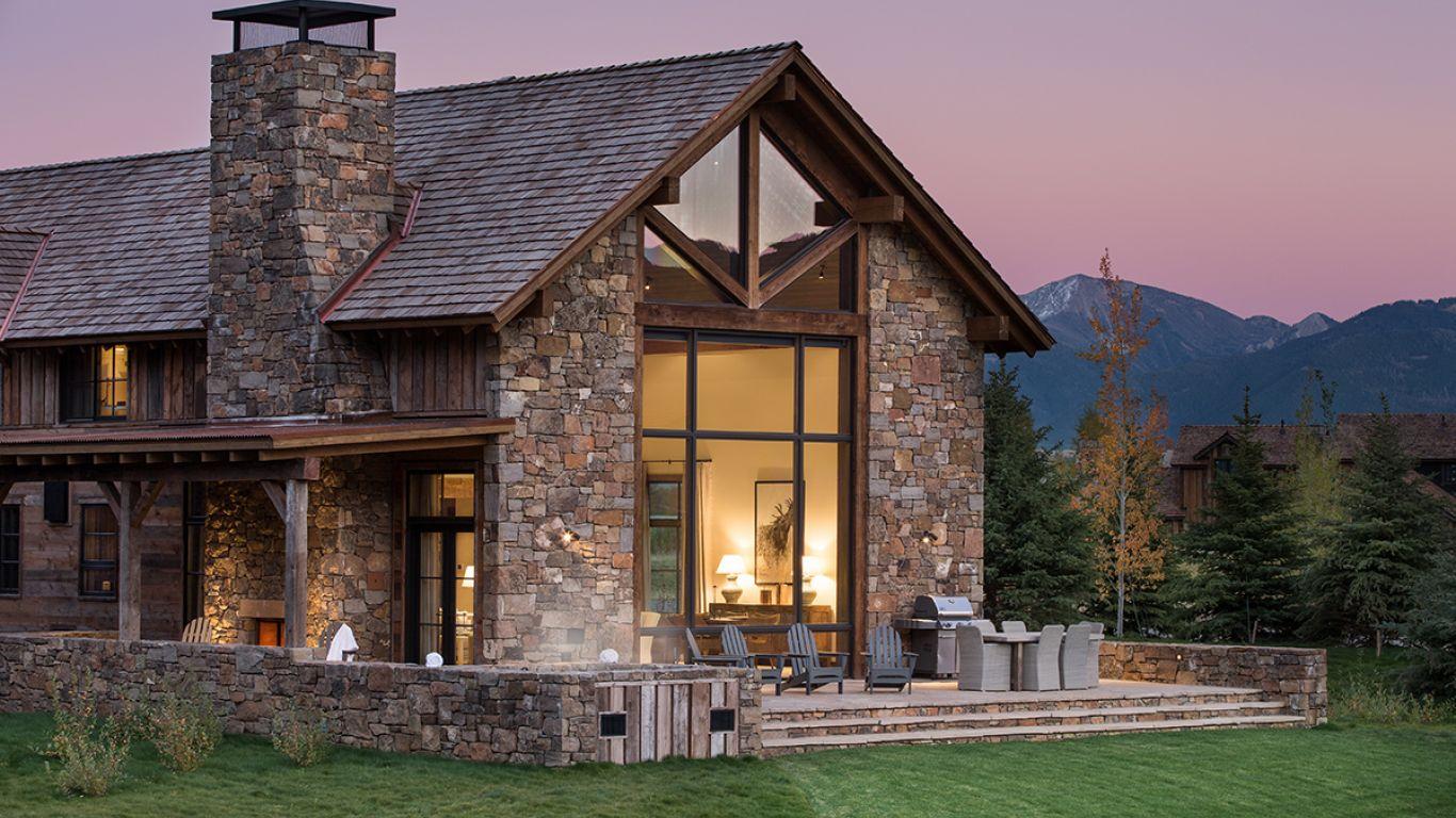 Villa Aaliyah, Jackson Hole, Rocky Mountains, USA