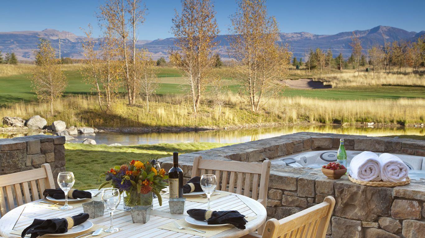 Villa Alisha, Jackson Hole, Rocky Mountains, USA