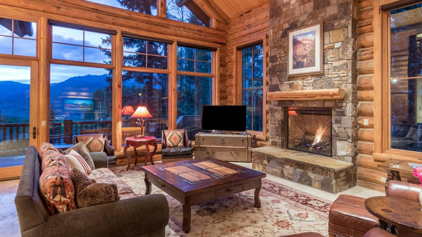 Villa Ophelia, Telluride, Rocky Mountains, USA