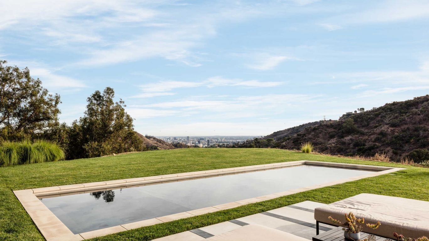 Villa Tara, Hollywood Hills, Los Angeles, USA