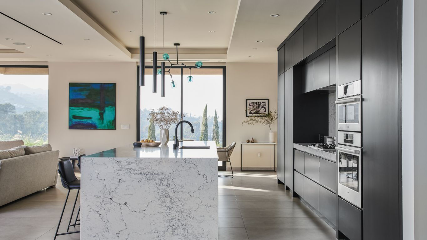 Villa Tara, Hollywood Hills, Los Angeles, USA