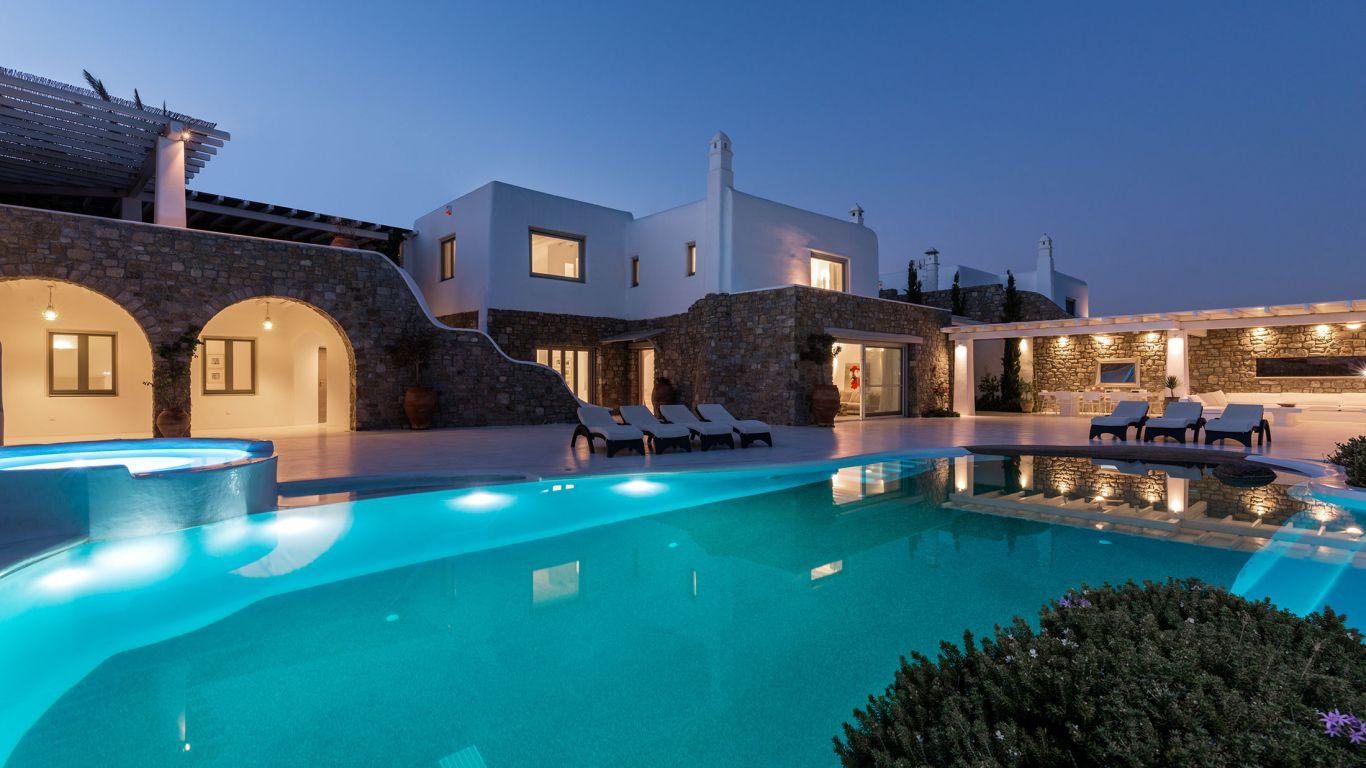 Villa Cadence, Aleomandra, Mykonos, Greece