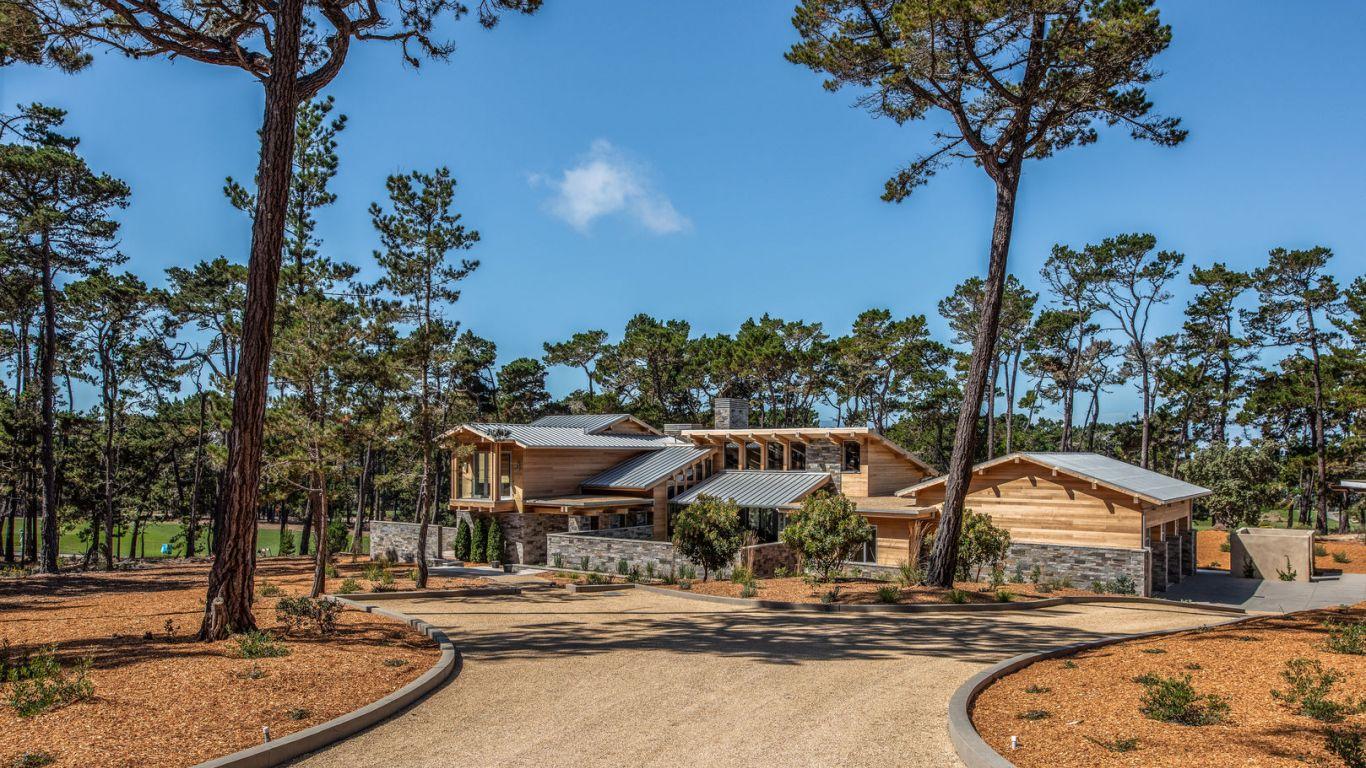 Villa Diana, Pebble Beach, Carmel, USA