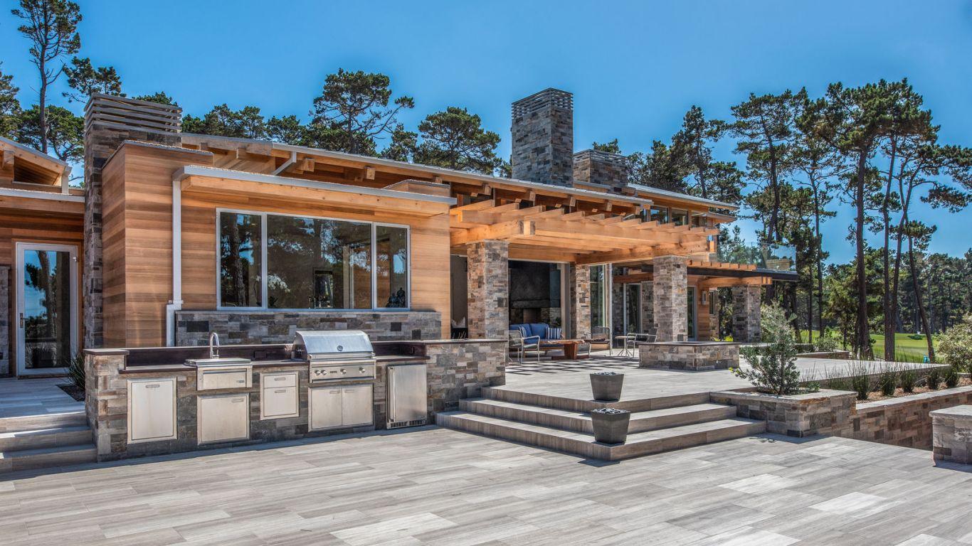 Villa Diana, Monterey, Carmel, USA
