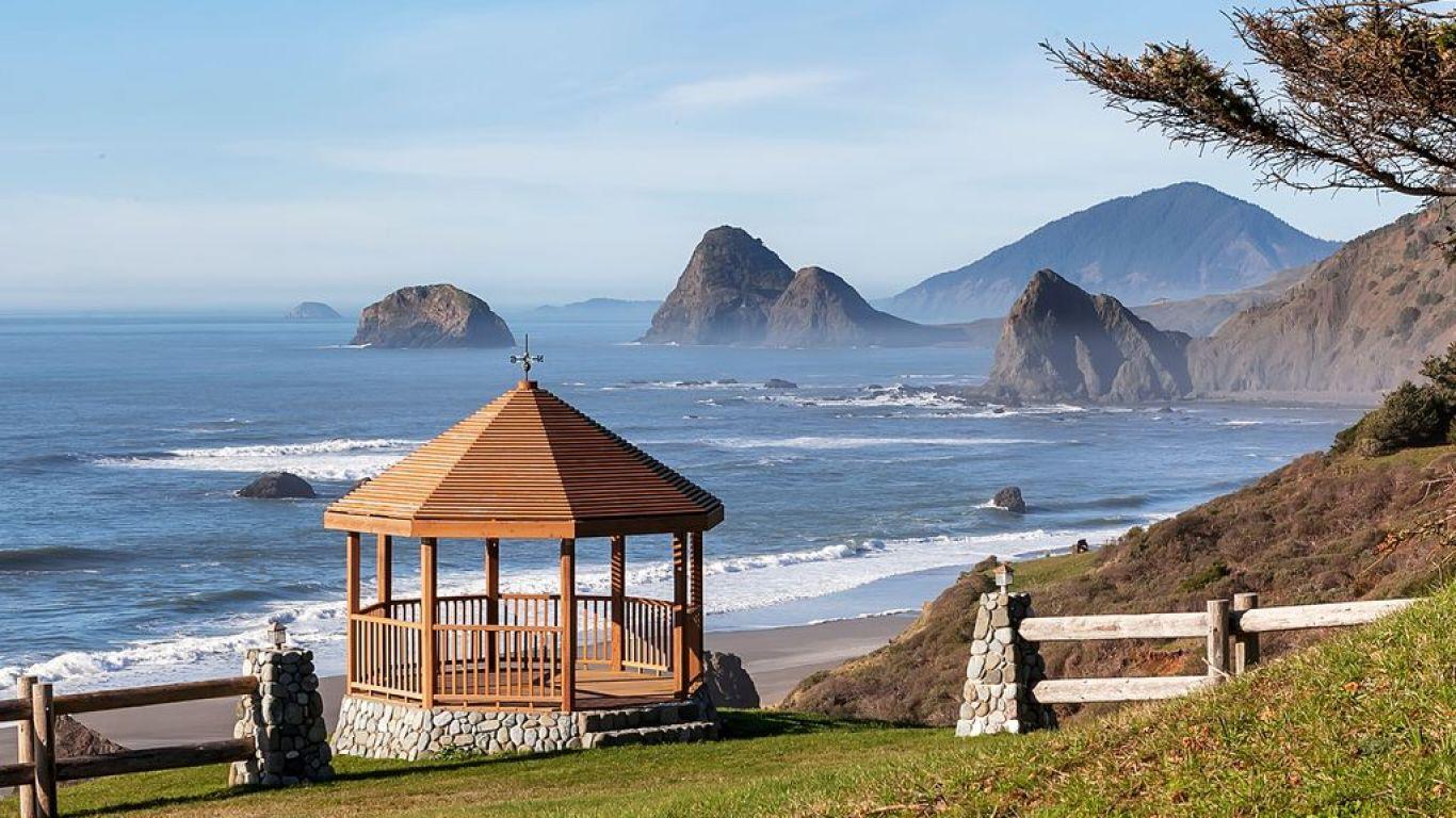 Villa Darina, Gold Beach, Oregon, USA