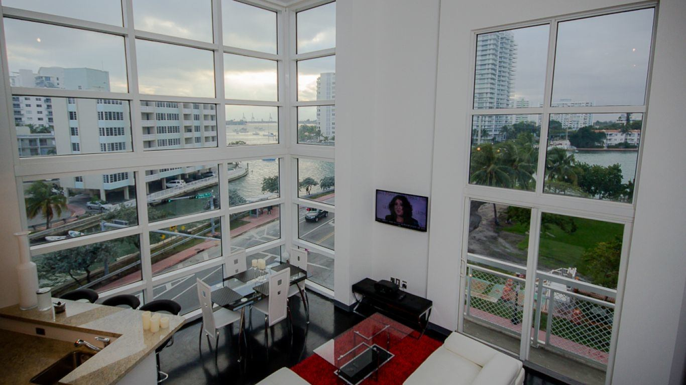 Apartment Noah, South Beach, Miami, USA