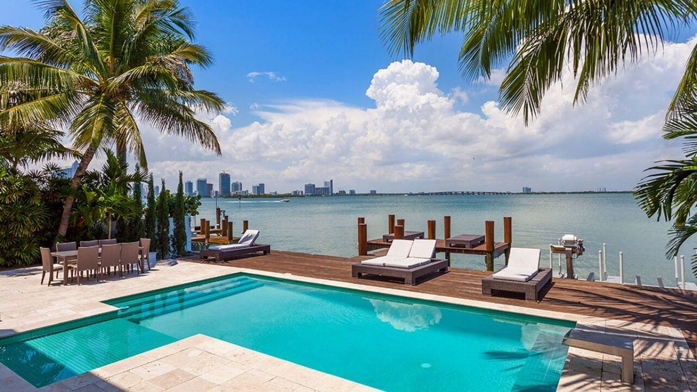 Villa Penelope, Venetian Islands, Miami, USA