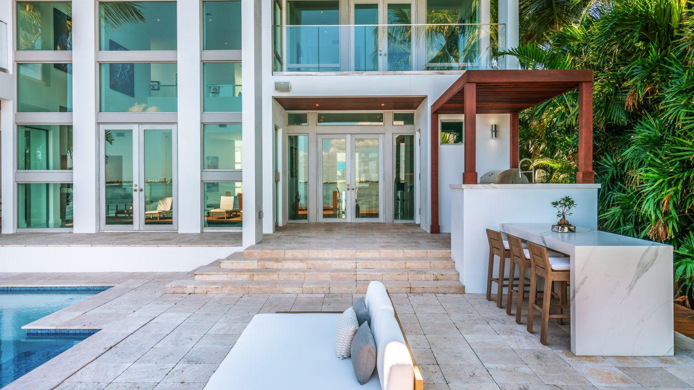 Villa Penelope, Venetian Islands, Miami, USA
