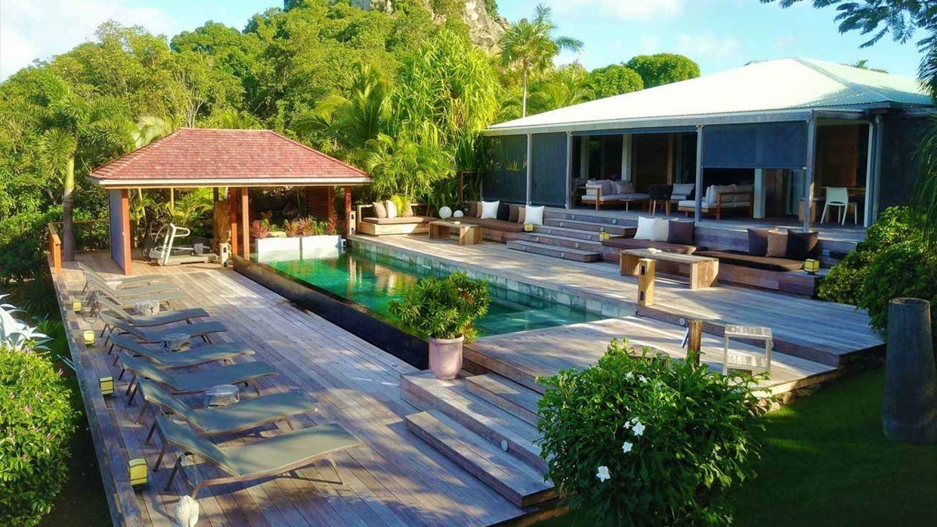 Villa Magnolia, Anse des Cayes, St. Barth, France