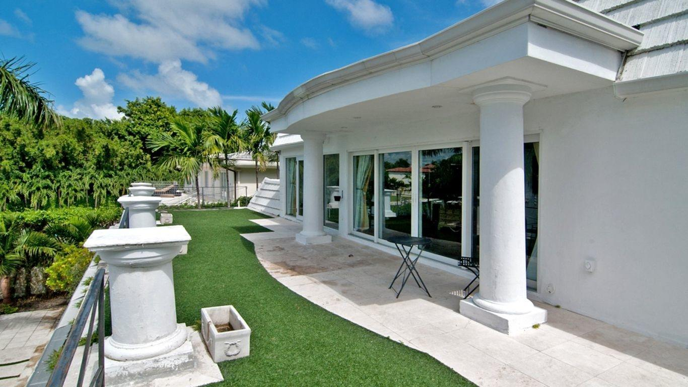 Villa Leighton, South Beach, Miami, USA