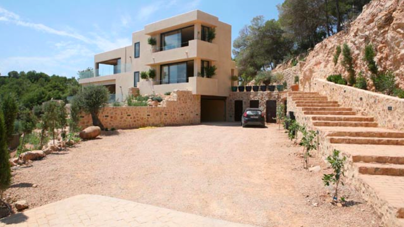Villa Kseniya, Santa Gertrudis, Ibiza, Spain