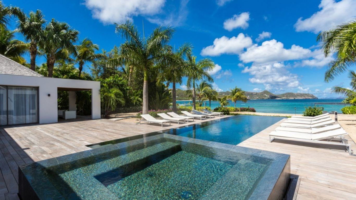 Villa Palm Beach, L'Orient, St. Barth, France