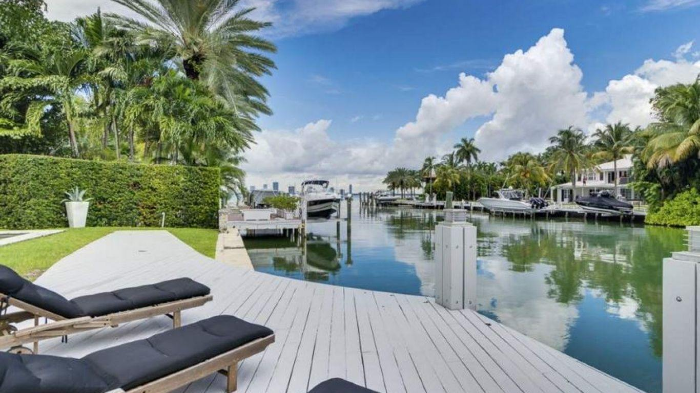 Villa Orchid, Sunset Islands, Miami, USA