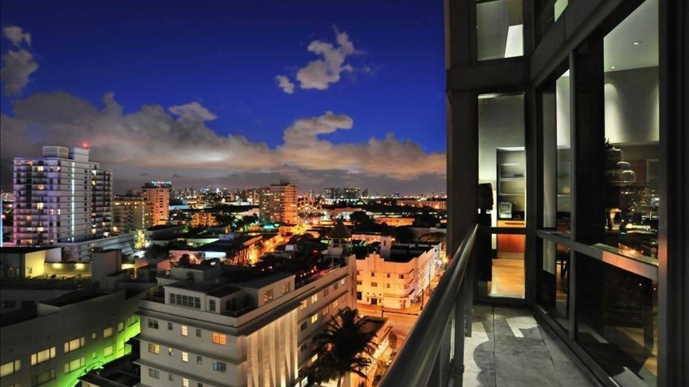 Setai Townhouse A, South Beach, Miami, USA