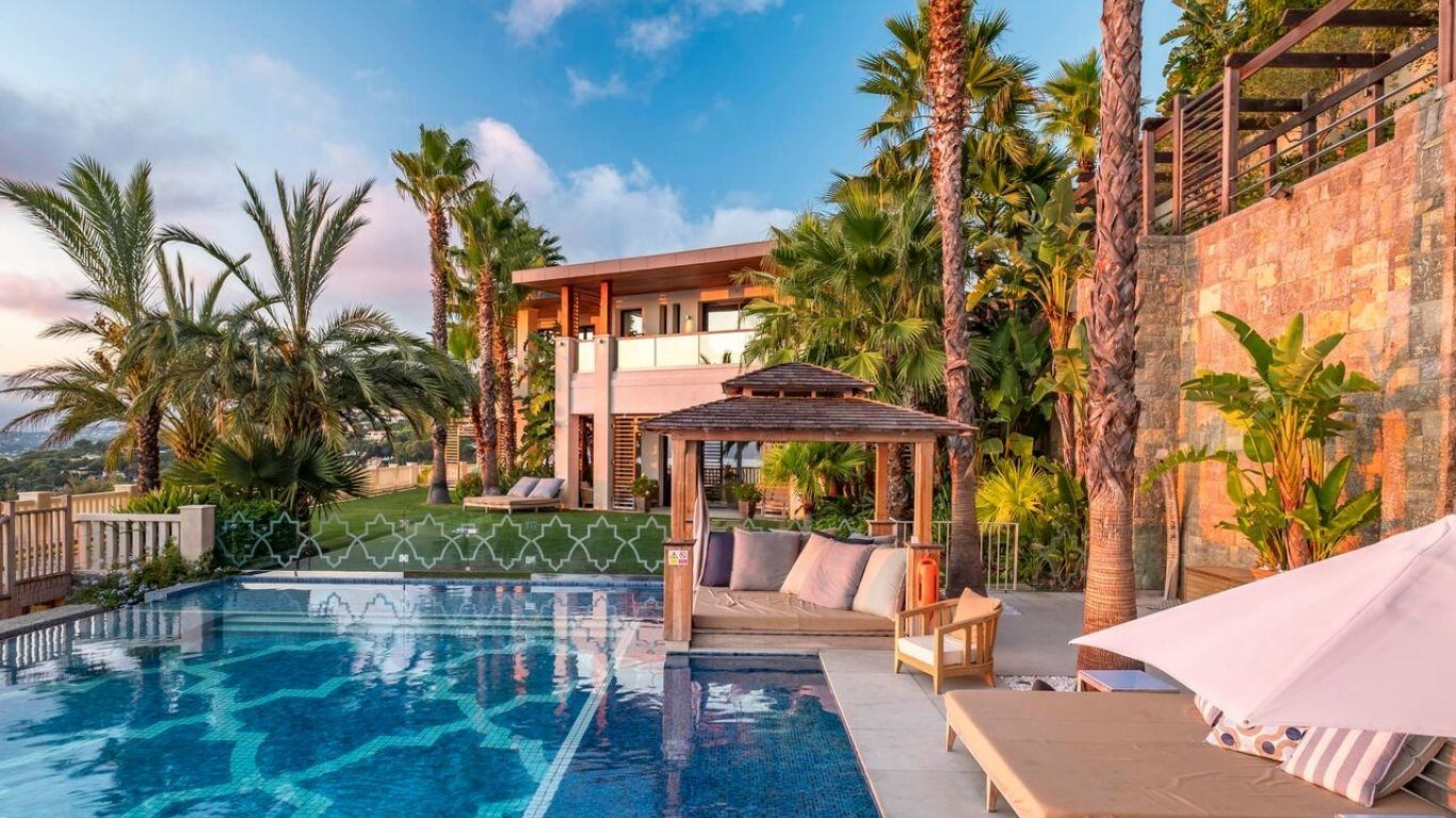 Villa Alang Alang, Californie, Cannes, France