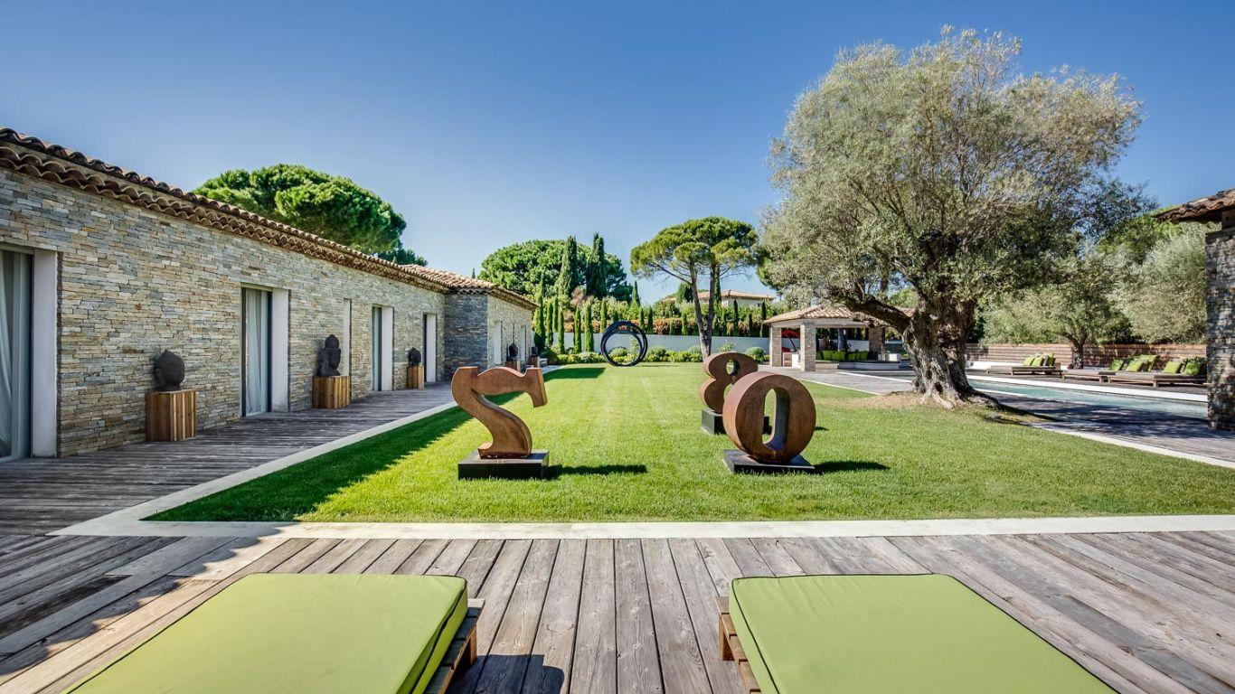 Villa Vivienne, Les Salins, St. Tropez, France
