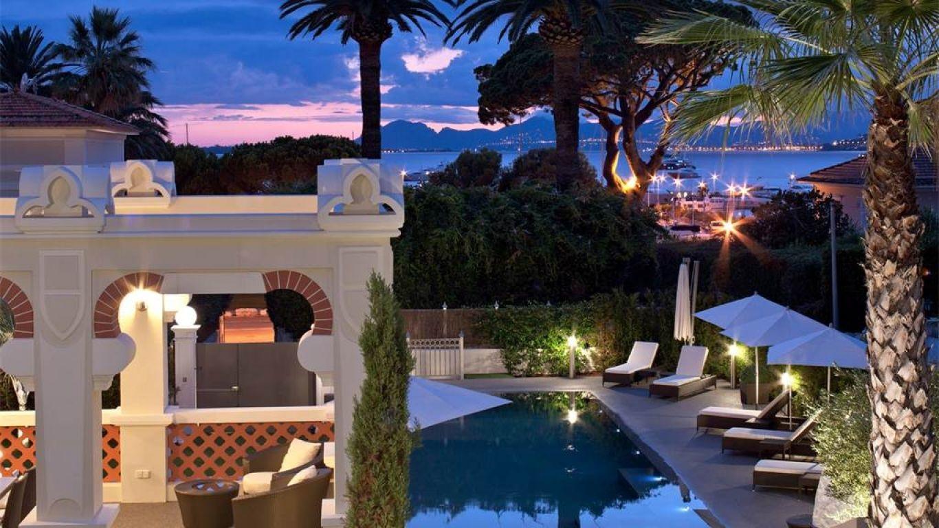 Villa Bernadine, Antibes, Cannes, France
