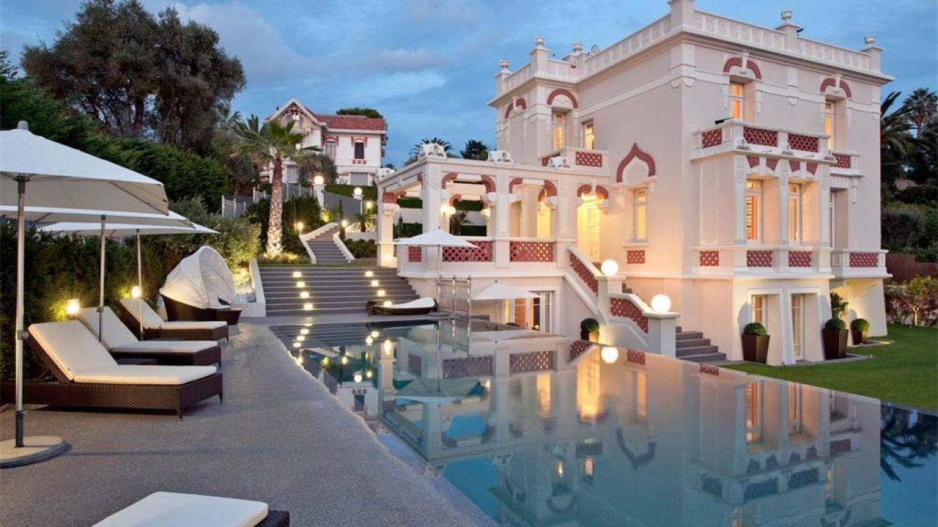 Villa Bernadine, Antibes, Cannes, France