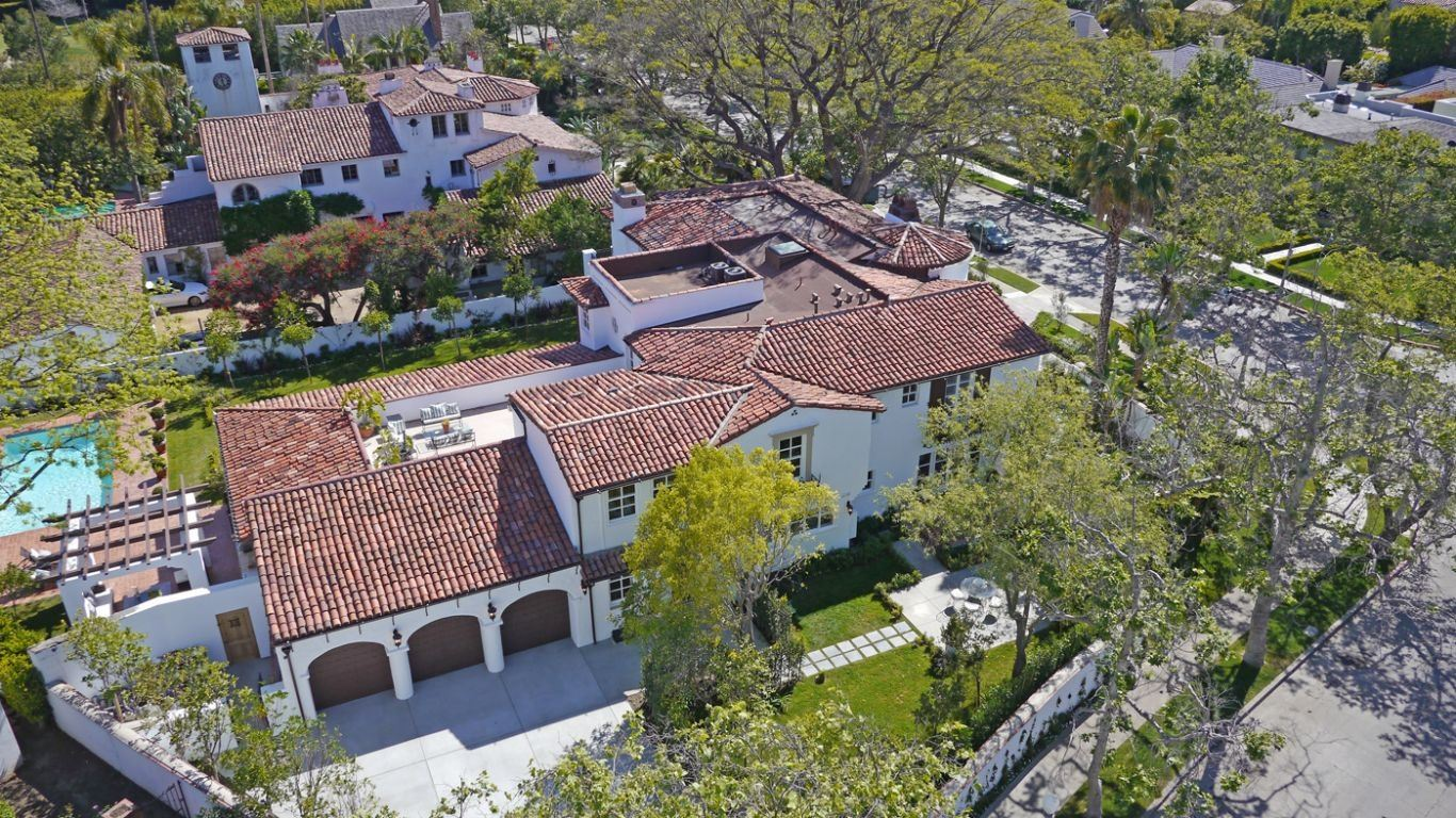 Villa Lia, Hollywood, Los Angeles, USA