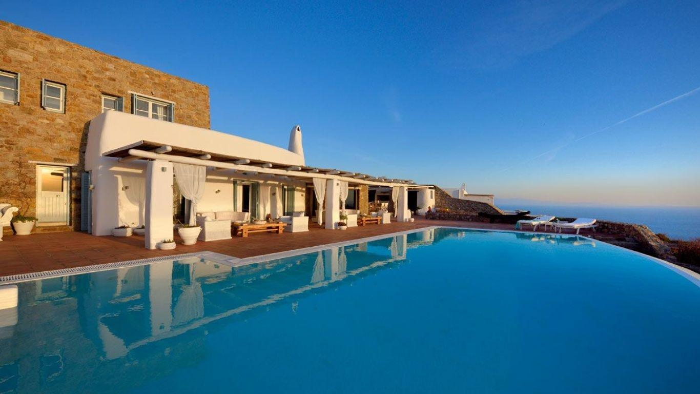 Villa Morgana, Saint Lazaros, Mykonos, Greece
