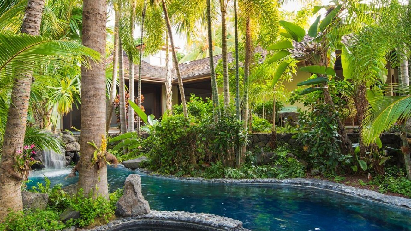 Villa Ivy, Kona Coast, Big Island, USA