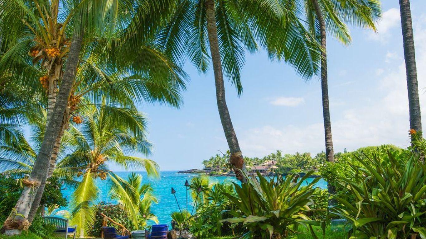 Villa Ivy, Kona Coast, Big Island, USA