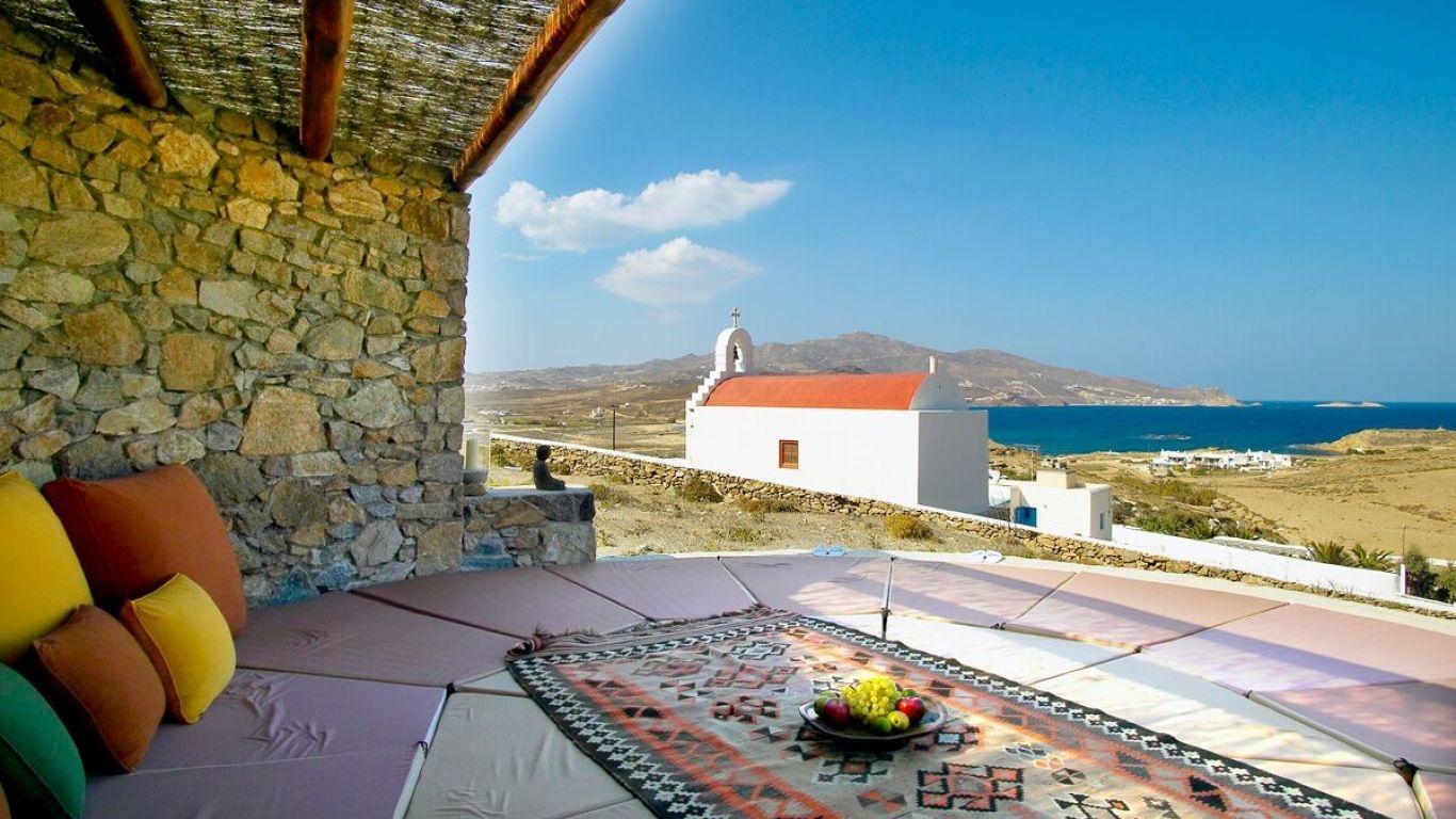 Villa Adallina, Ftelia Beach, Mykonos, Greece