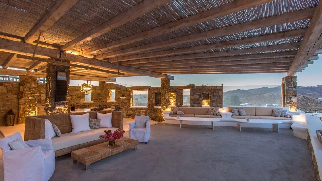 Villa Candace, Kalafatis, Mykonos, Greece