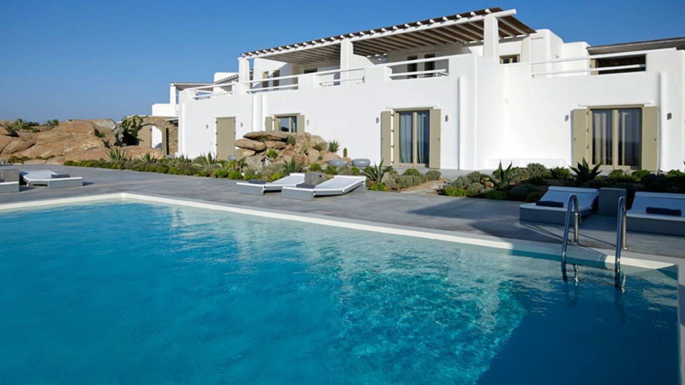 Villa Ariana, Paradise Beach, Mykonos, Greece
