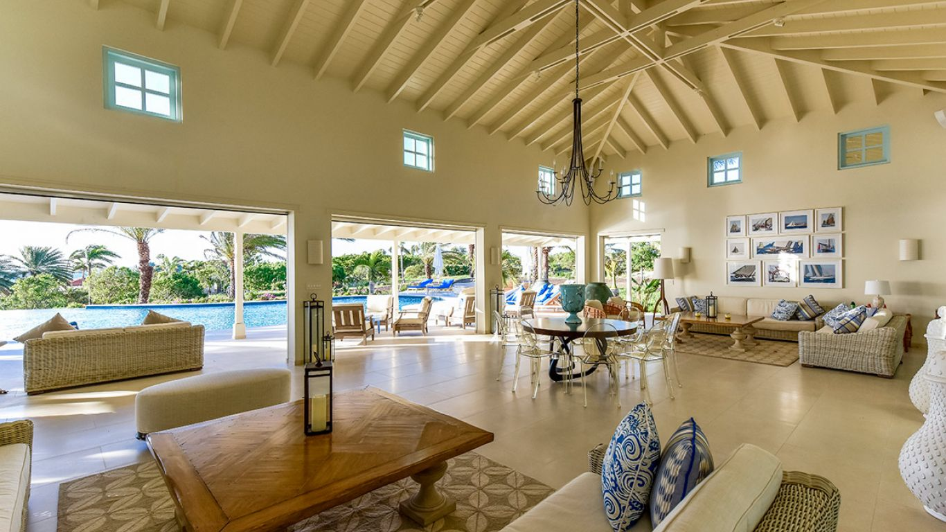Jumby Bay Villa Evangeline, Long Island, Antigua, Antigua and Barbuda