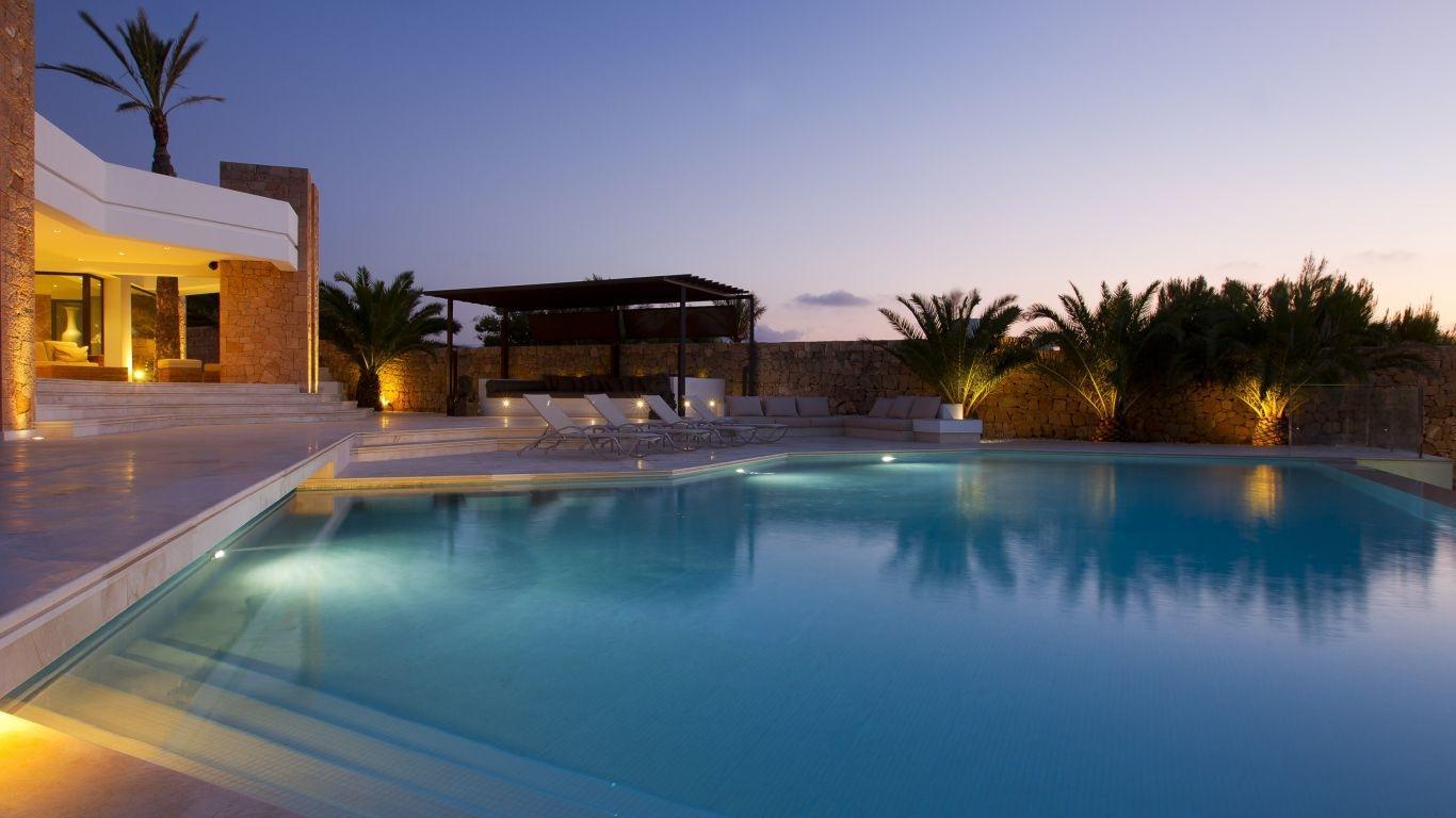 Villa Olesia, Cala Vedella, Ibiza, Spain