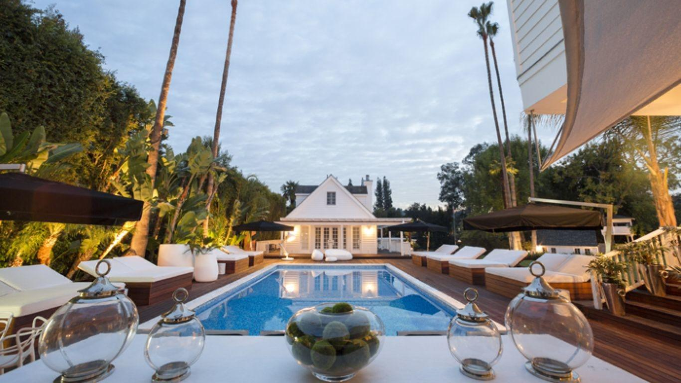 Villa Callet, Toluca Lake, Los Angeles, USA