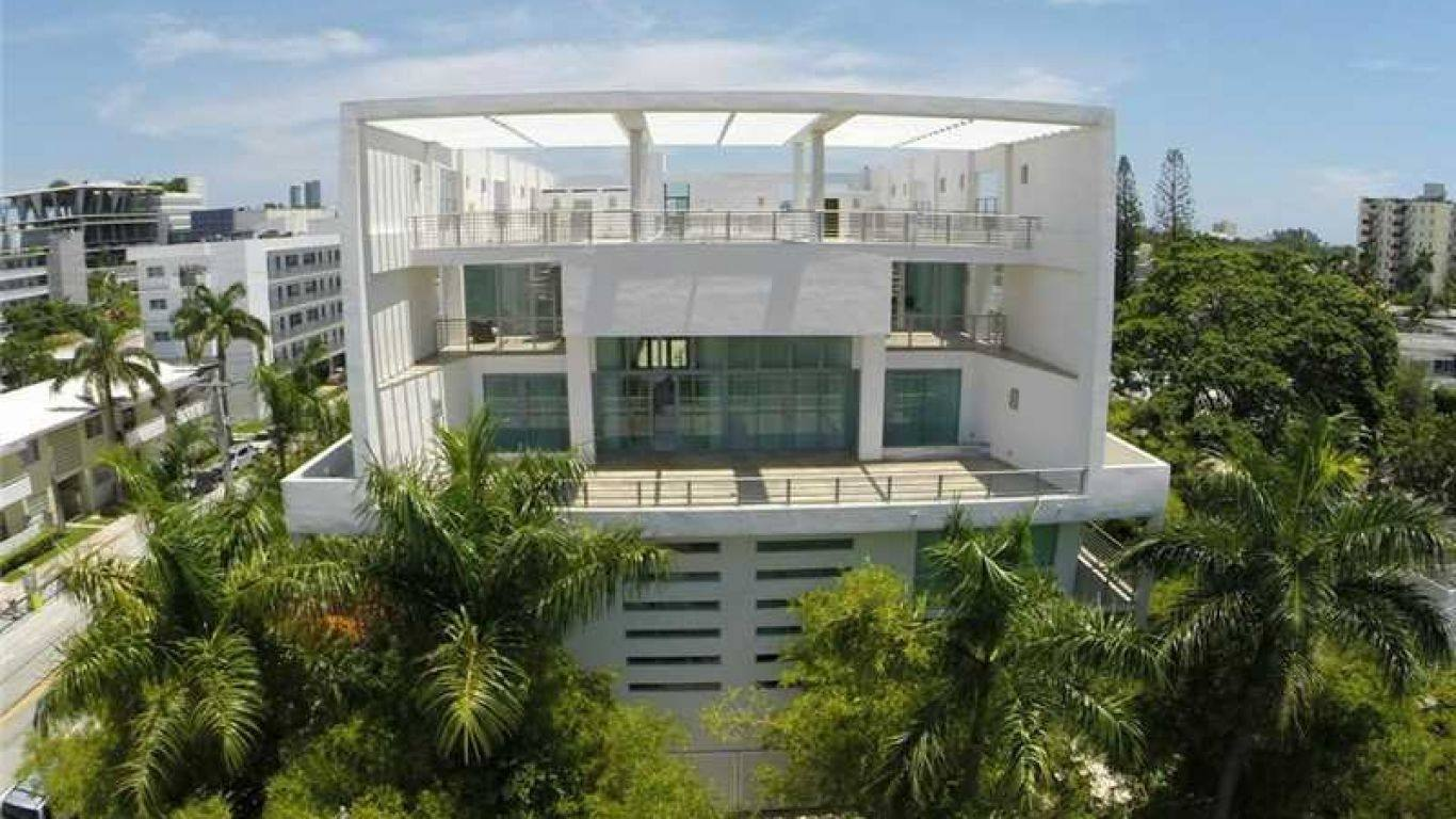 Villa Lori, South Beach, Miami, USA