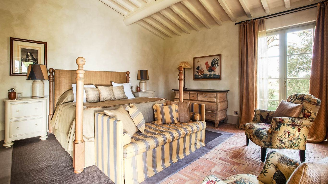 Villa Callet, Montalcino, Tuscany, Italy