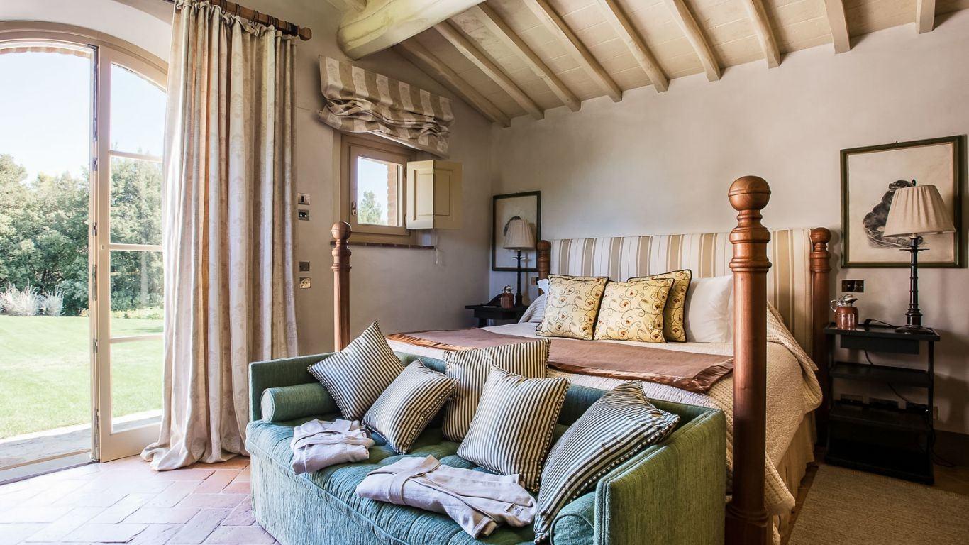 Villa Rachel, Montalcino, Tuscany, Italy