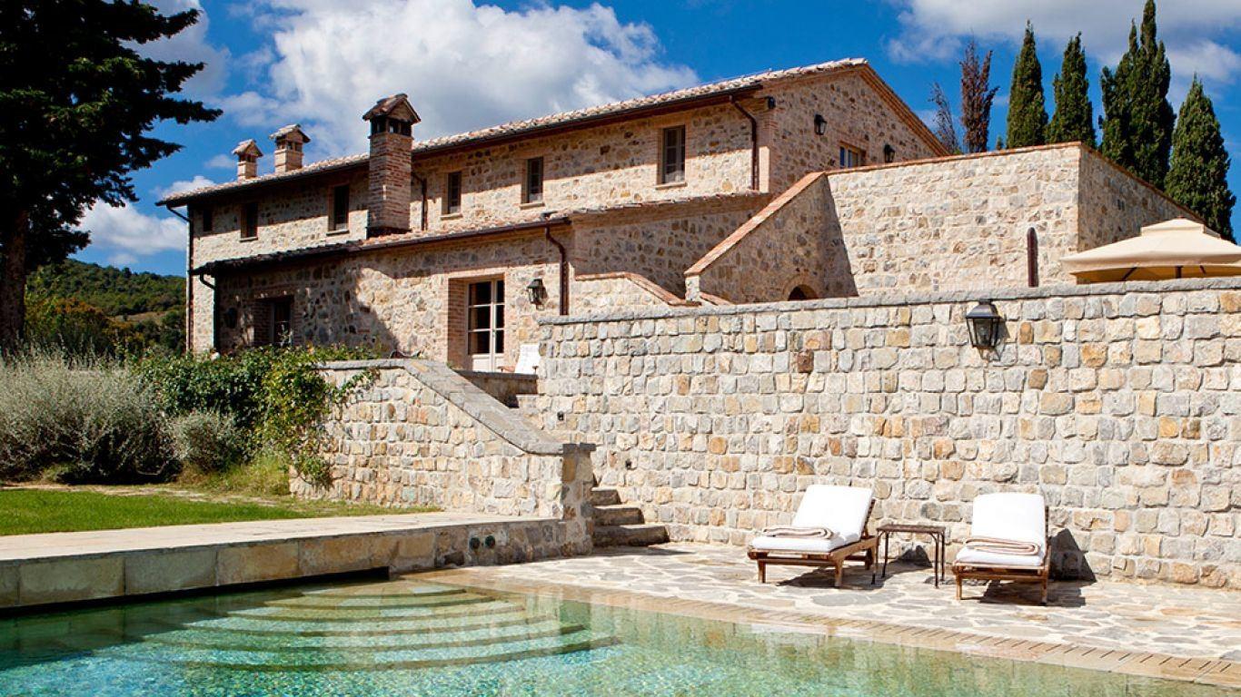 Villa Hillary, Siena, Tuscany, Italy