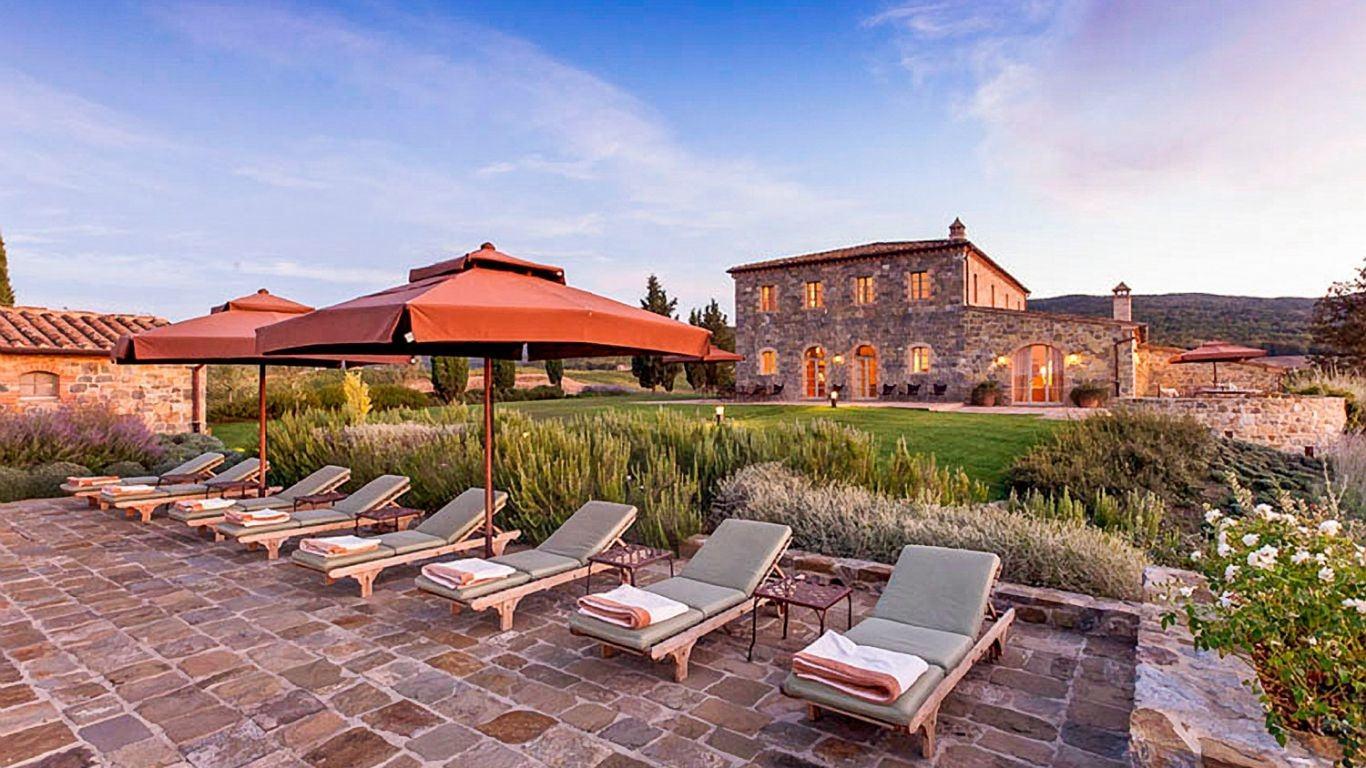 Villa Hillary, Montalcino, Tuscany, Italy