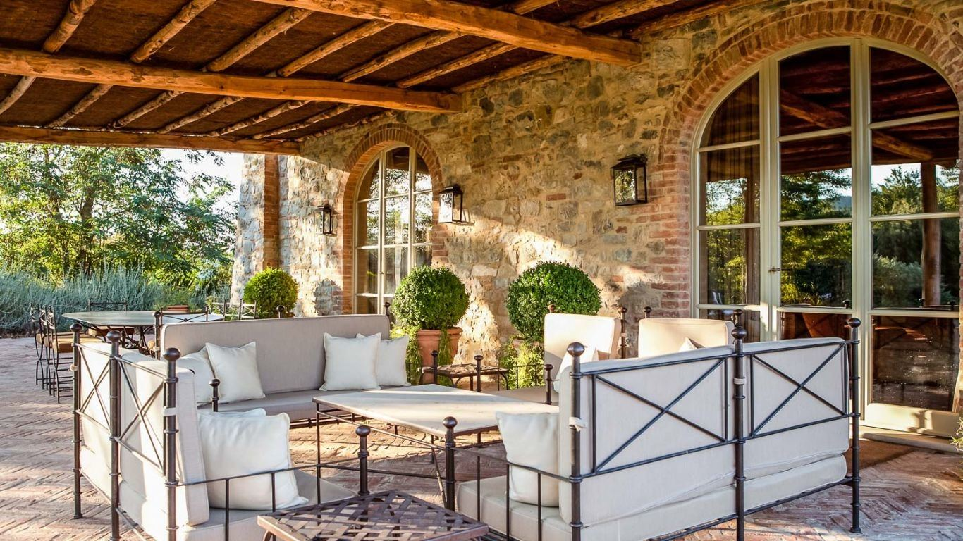 Villa Julie, Montalcino, Tuscany, Italy