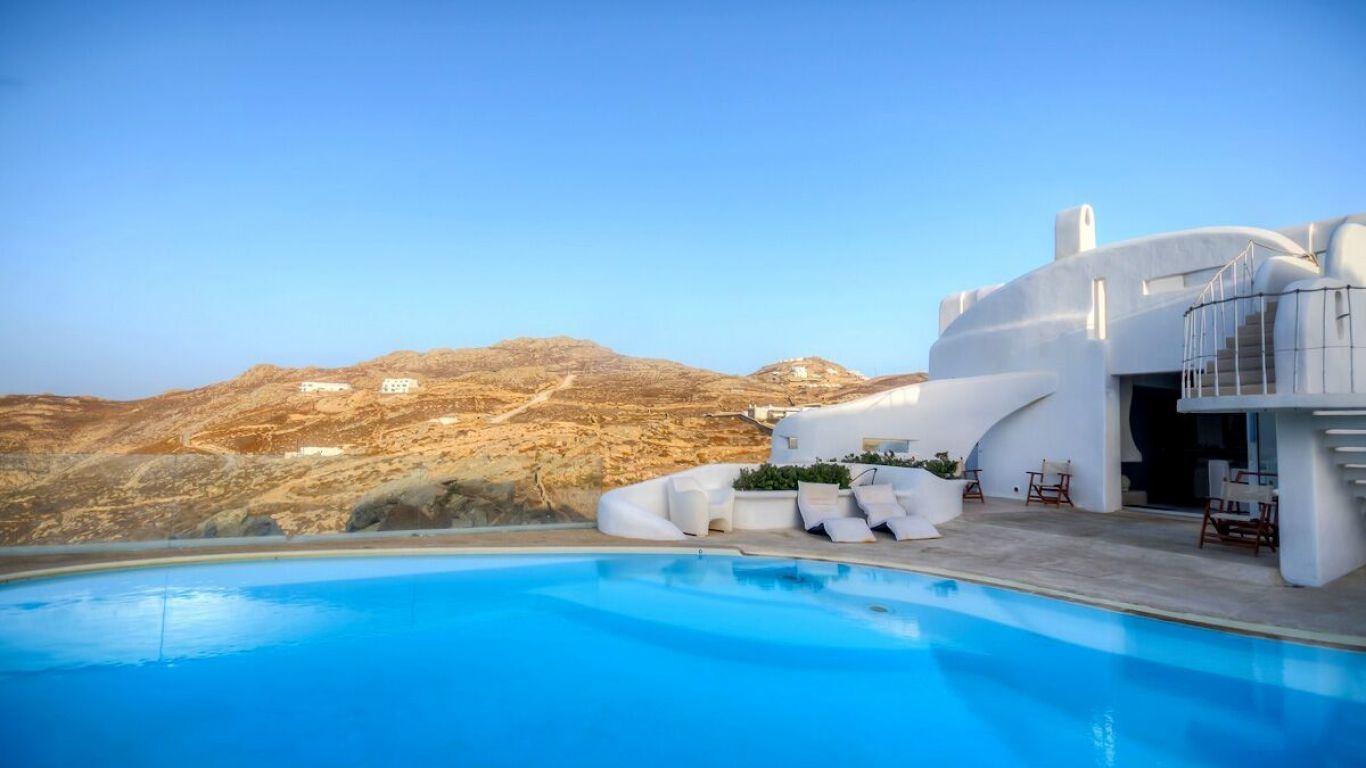 Villa Abilene, Fanari, Mykonos, Greece