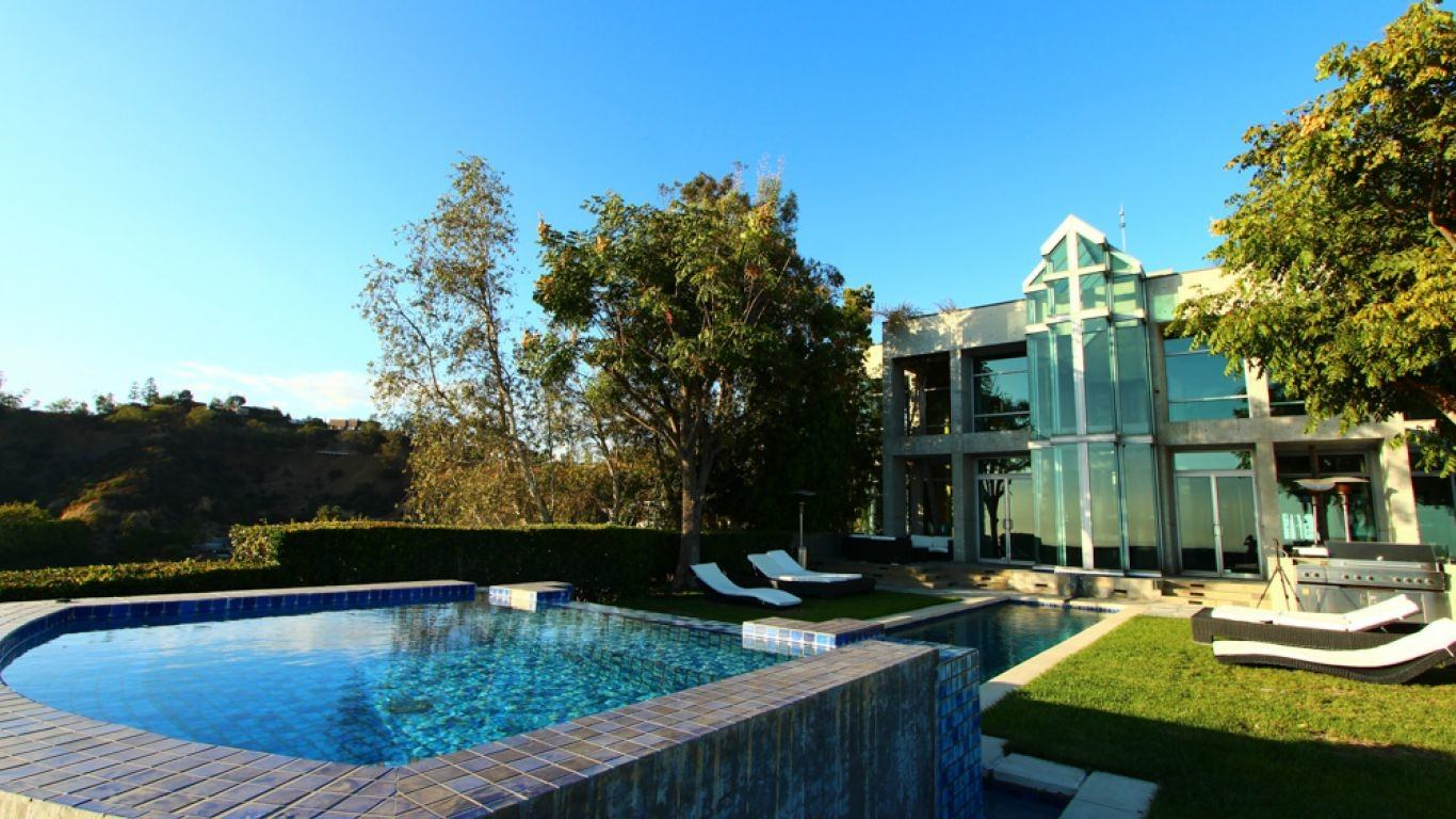 Villa Stella, Hollywood Hills, Los Angeles, USA