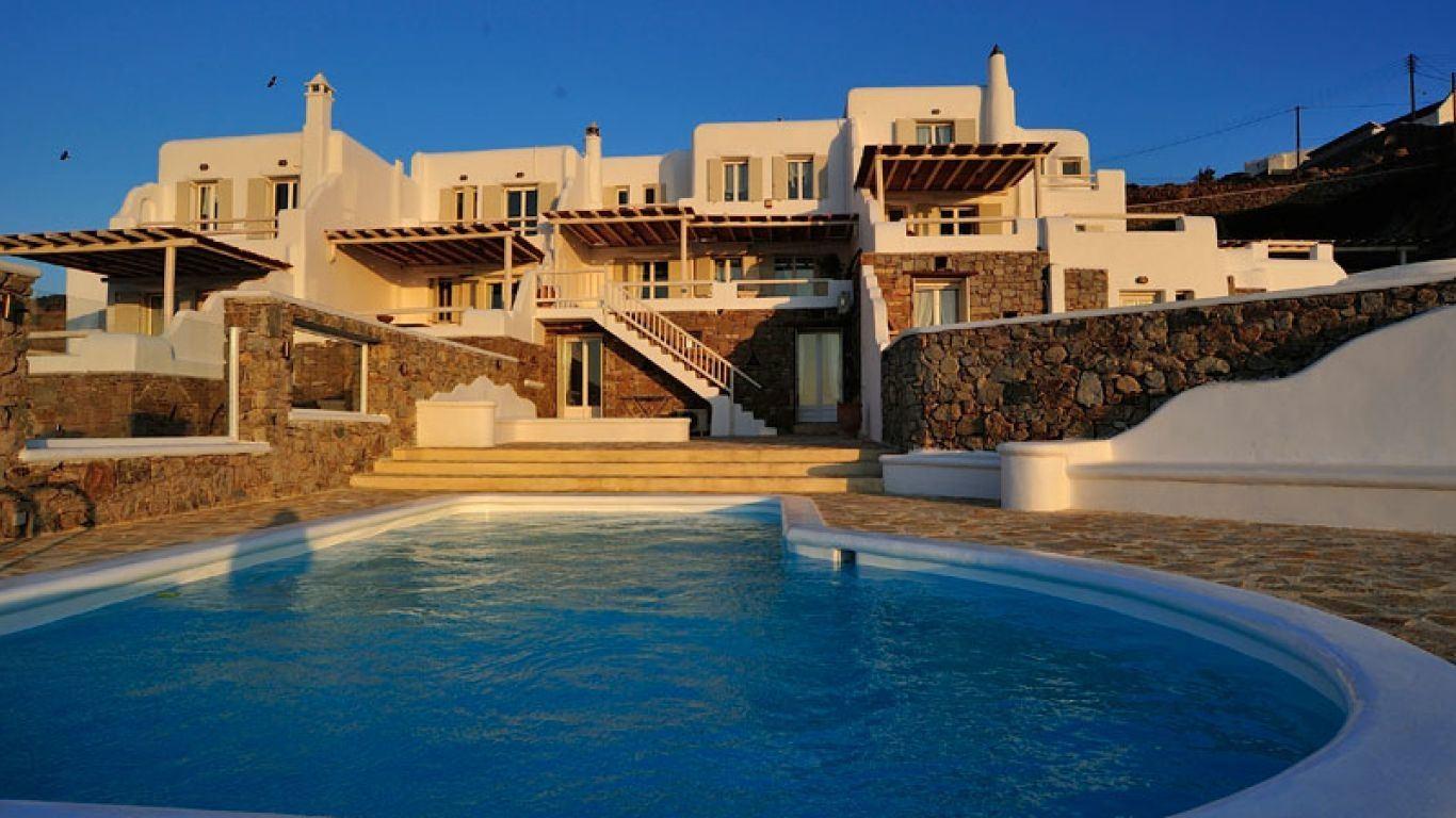Villa Sabina, Ornos, Mykonos, Greece