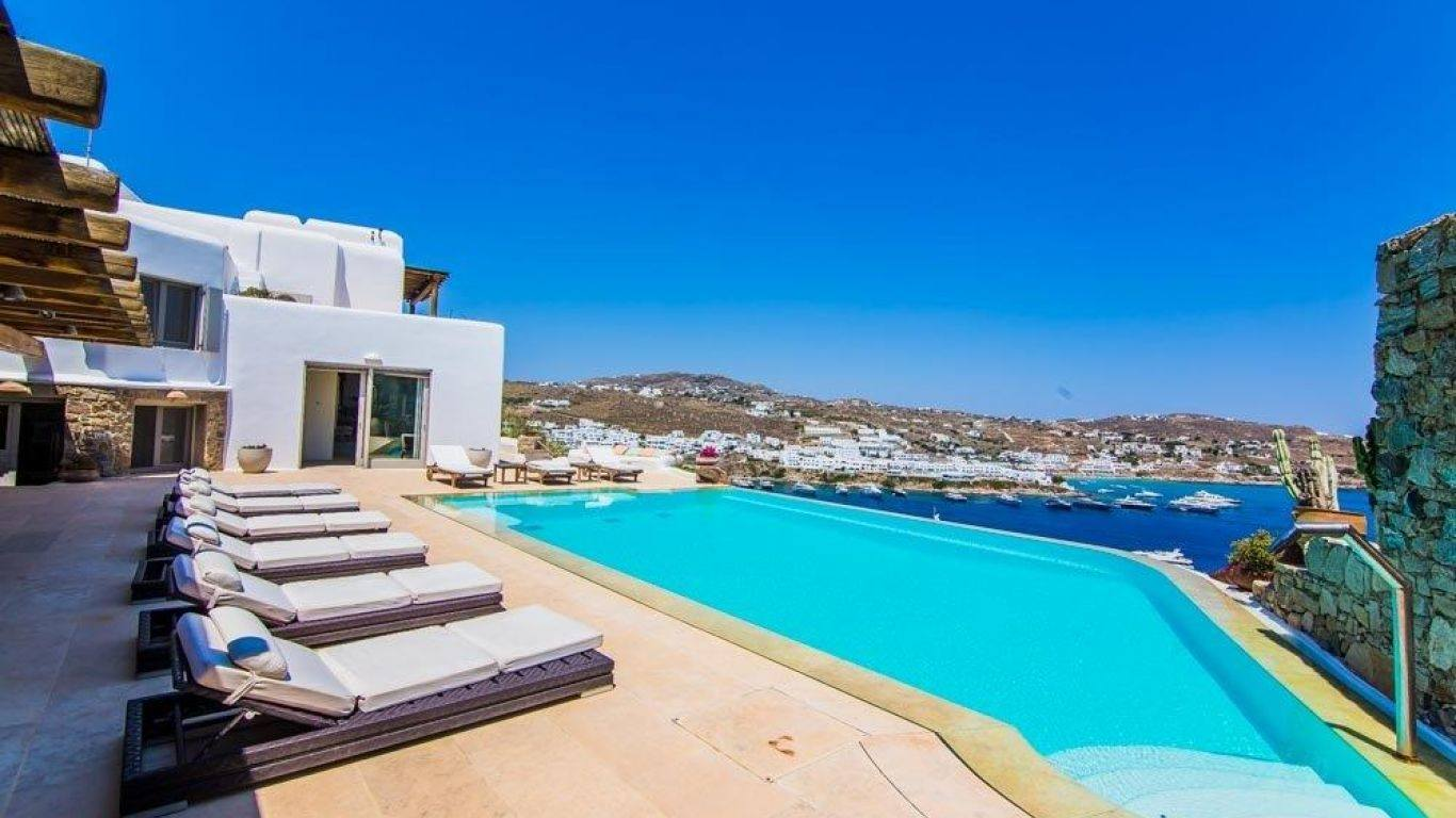 Villa Theia, Agios Lazaros, Mykonos, Greece
