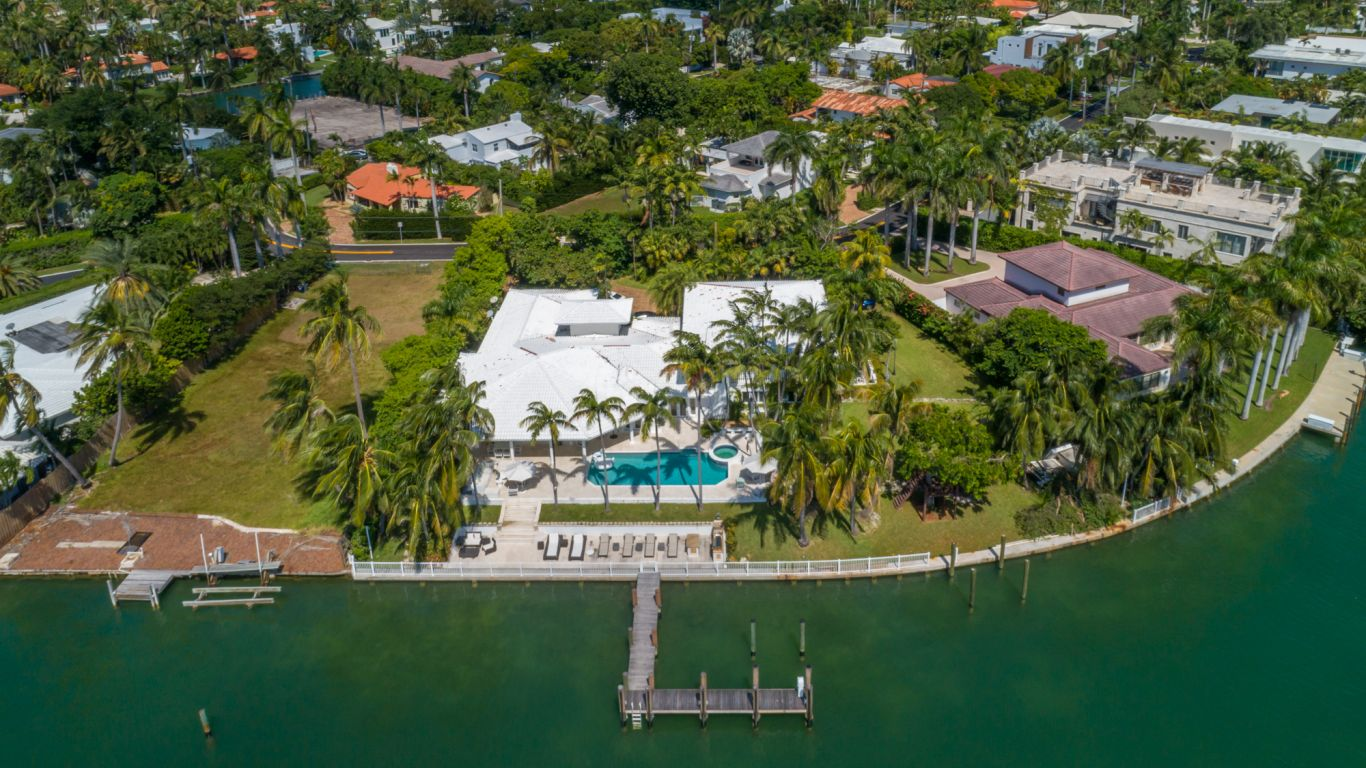 Villa Florina, Sunset Islands, Miami, USA