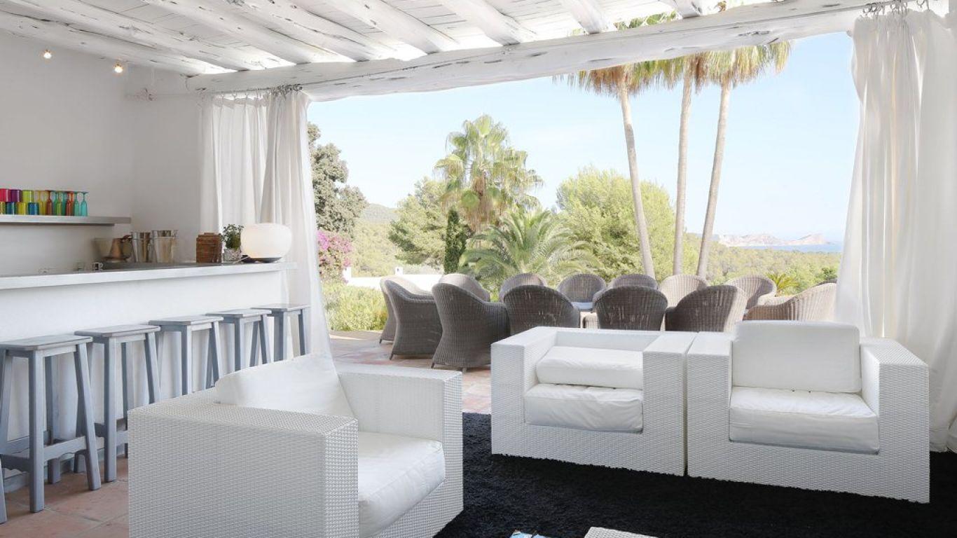 Villa Calina, Cala Jondal, Ibiza, Spain