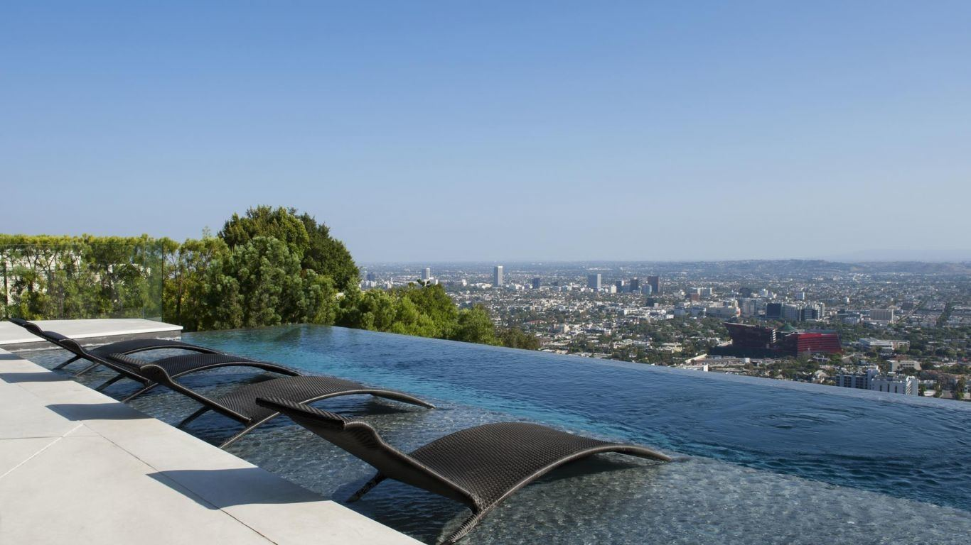 Villa Venus, Hollywood Hills, Los Angeles, USA
