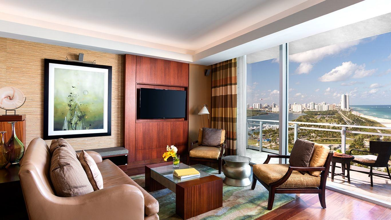 Ritz Carlton Resort Suite E, Bal Harbour, Miami, USA