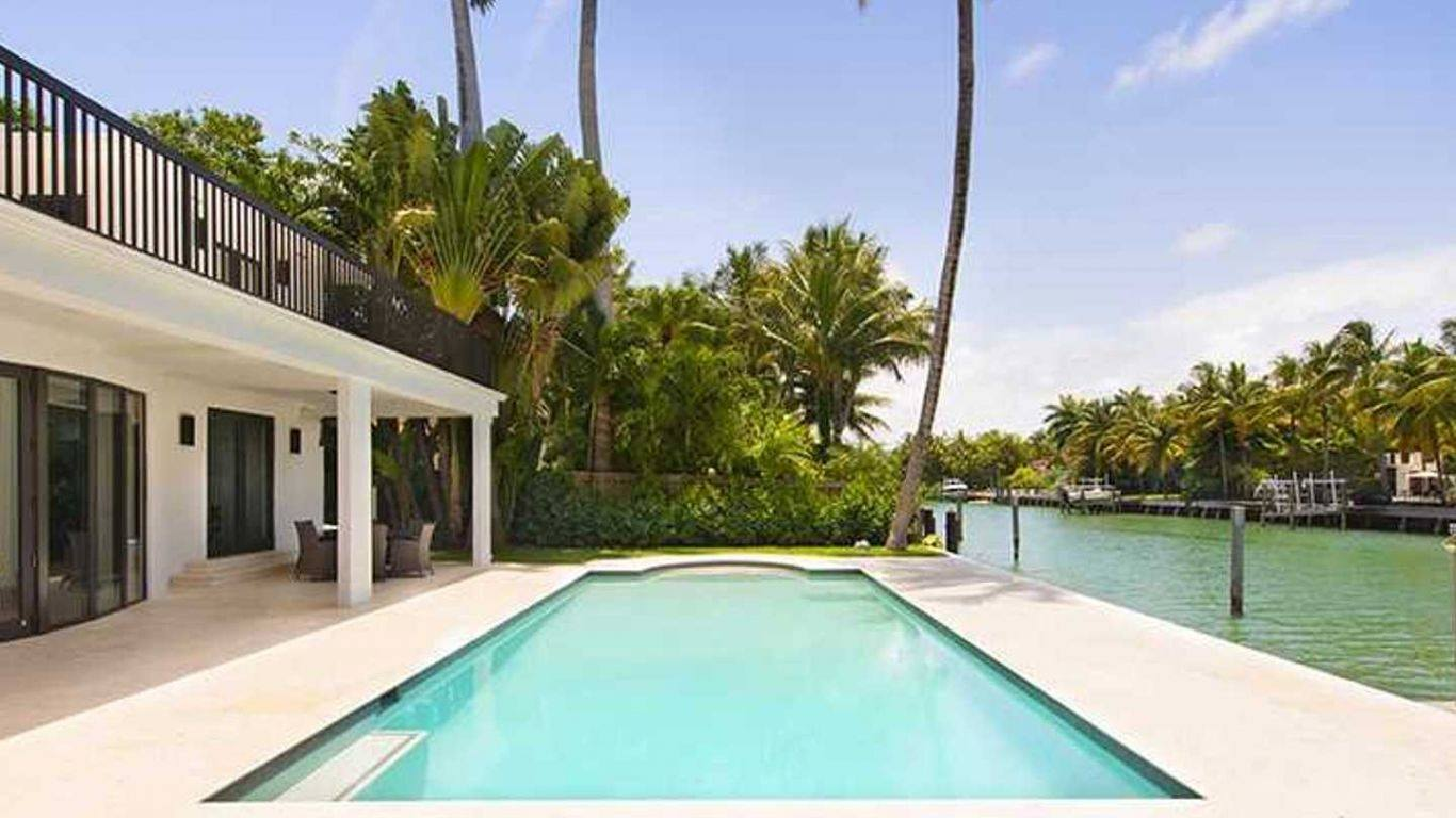 Villa Isha, Sunset Islands, Miami, USA