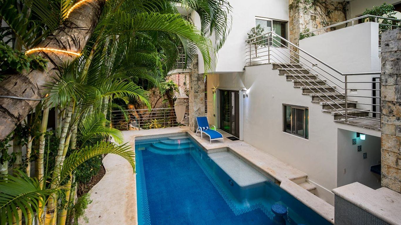 Villa Janet, Playacar, Playa del Carmen, Mexico