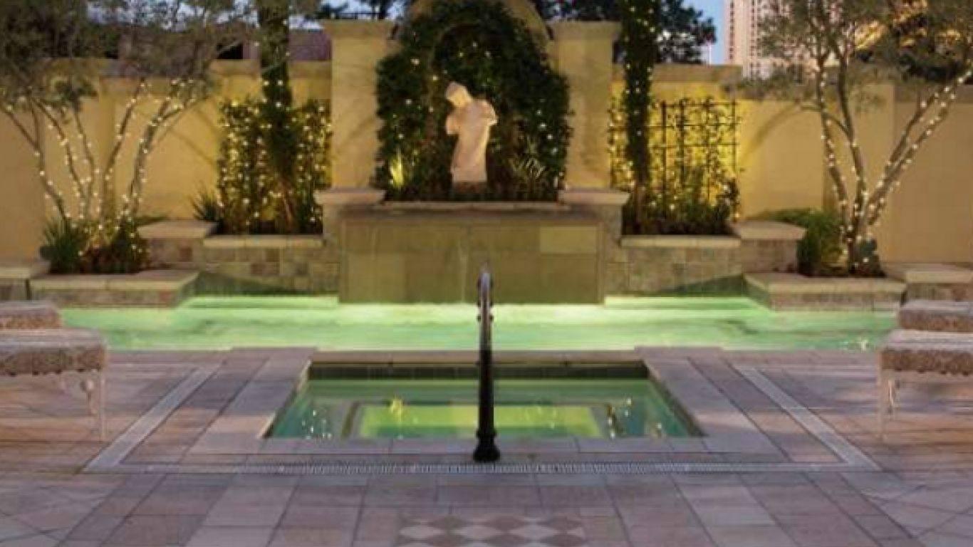 Bellagio Villas Suite A, The Strip, Las Vegas, USA