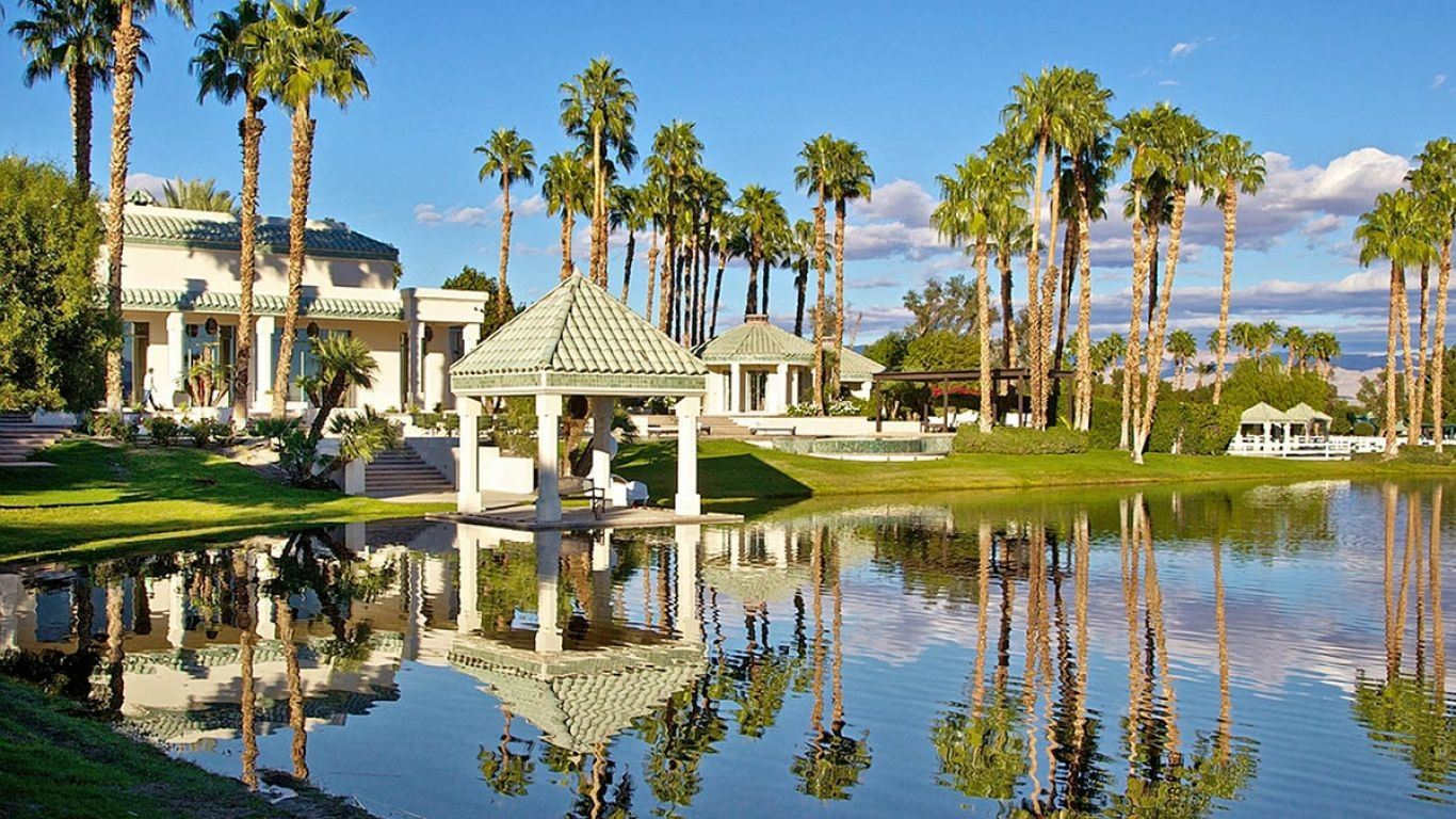 The Merv Griffin Estate, La Quinta, Palm Springs, USA